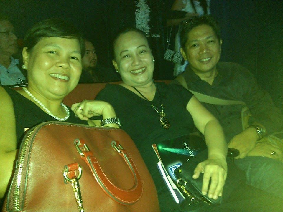 Prof. Vanessa Lusung-Oyzon, Dr. Maricris Acido-Muega, and Dr. Michael Arthus Muega at the KBP Golden Dove Awards Ceremony