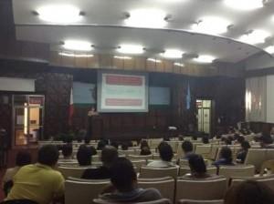 Social Studies Area's Seminar Updates Teachers on K to 12